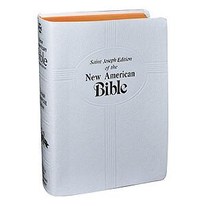 St Joseph Bible NABRE White 609/10W
