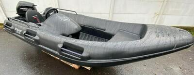 Nowa łódka, motorówka River 350 XR Black + MercuryF9,9 2020r!