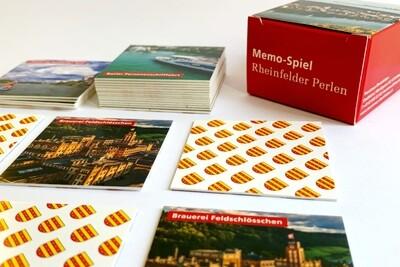 Memo-Spiel Rheinfelder Perlen