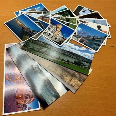 Postkarten-Set Rheinfelden