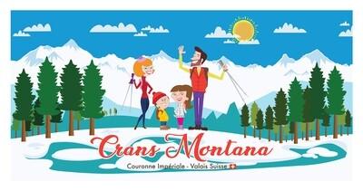 Illustration - Crans Montana #017