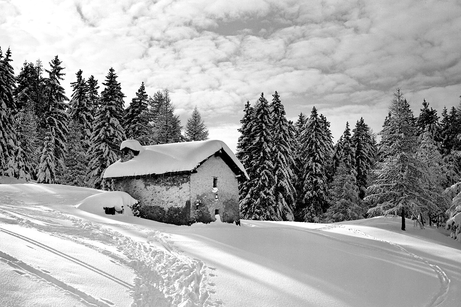 Photo - Ancienne Hiver #024