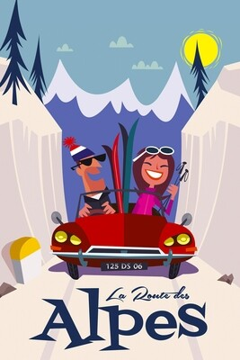 Illustration - Alpes #001
