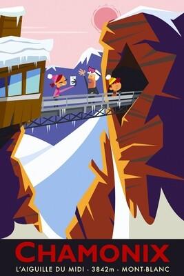 Illustration - Chamonix #002