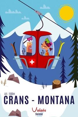 Illustration - Crans Montana #001