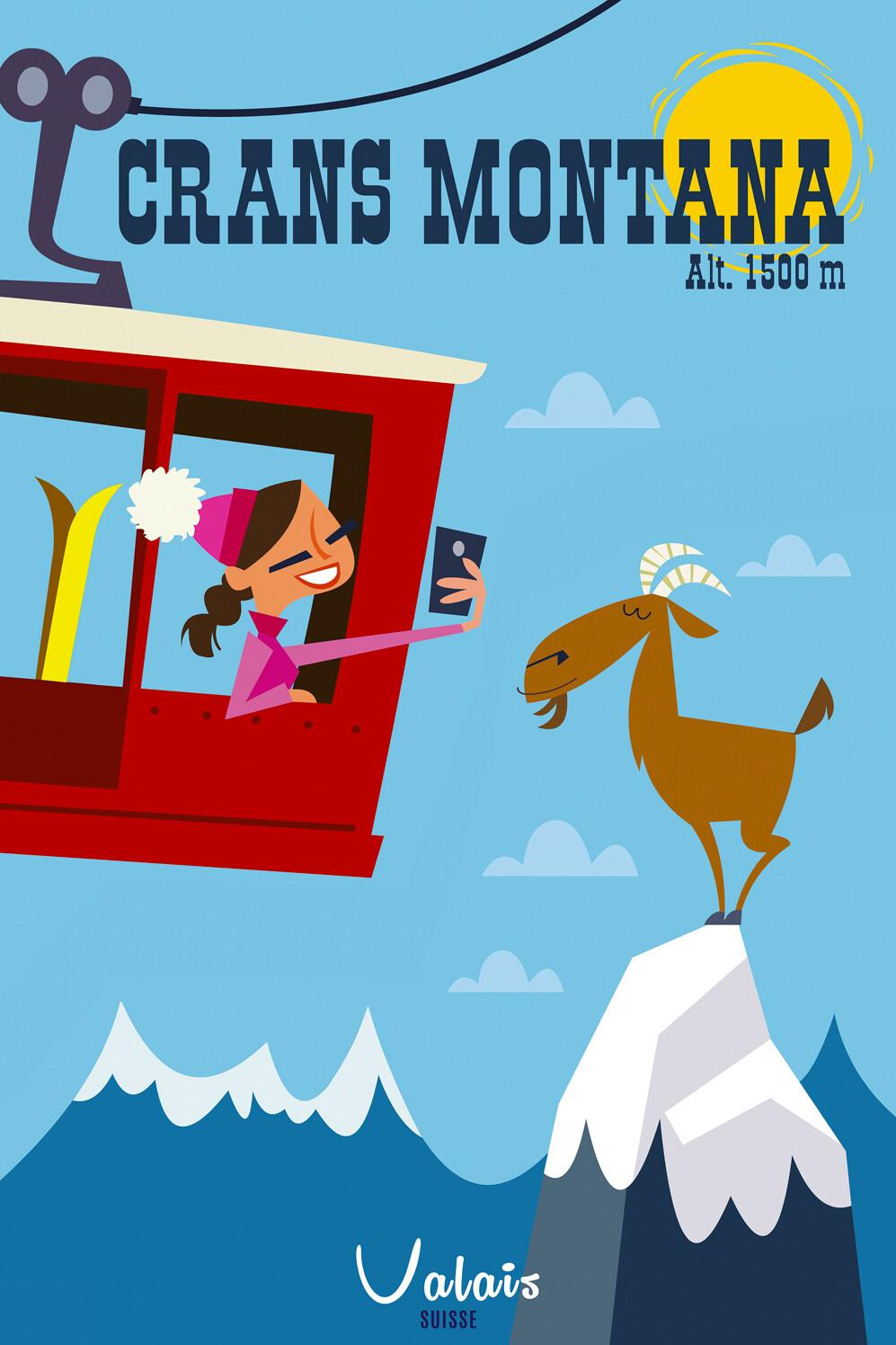 Illustration - Crans Montana #002