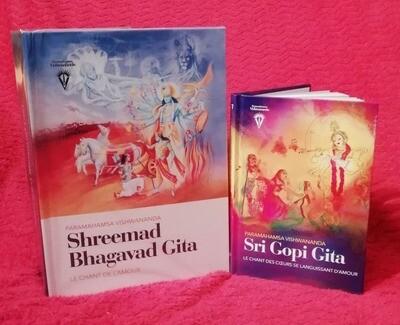 COMMANDE -Bhagavad Gita commentée  ET Sri Gopi Gita