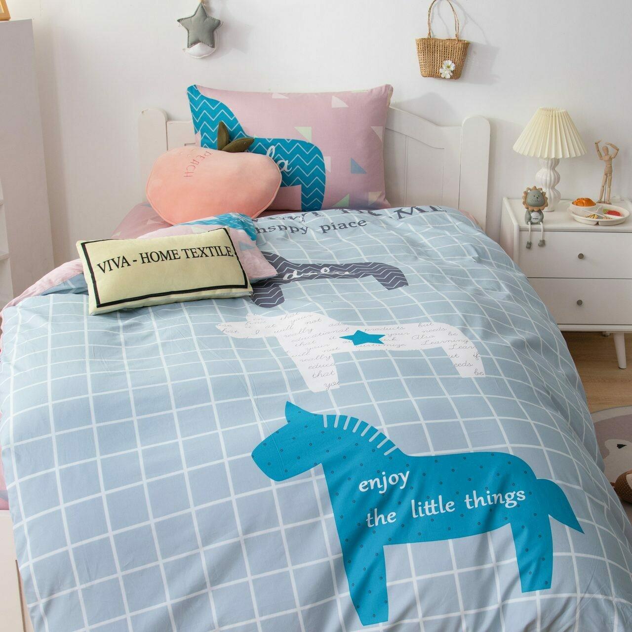 Комплект постельного белья Сатин Детский CD036