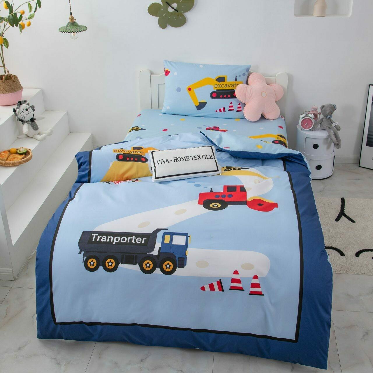 Комплект постельного белья Сатин Детский CD029