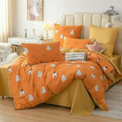 Комплект постельного белья Люкс Сатин A200