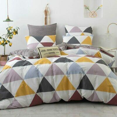Комплект постельного белья Люкс Сатин A199