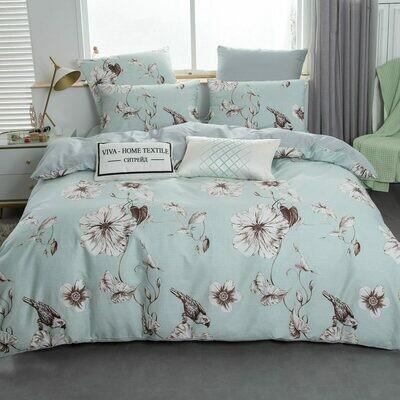 Комплект постельного белья Люкс Сатин A190