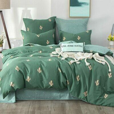 Комплект постельного белья Делюкс Сатин L344