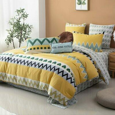 Комплект постельного белья Делюкс Сатин L349