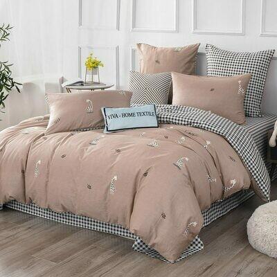 Комплект постельного белья Делюкс Сатин L331