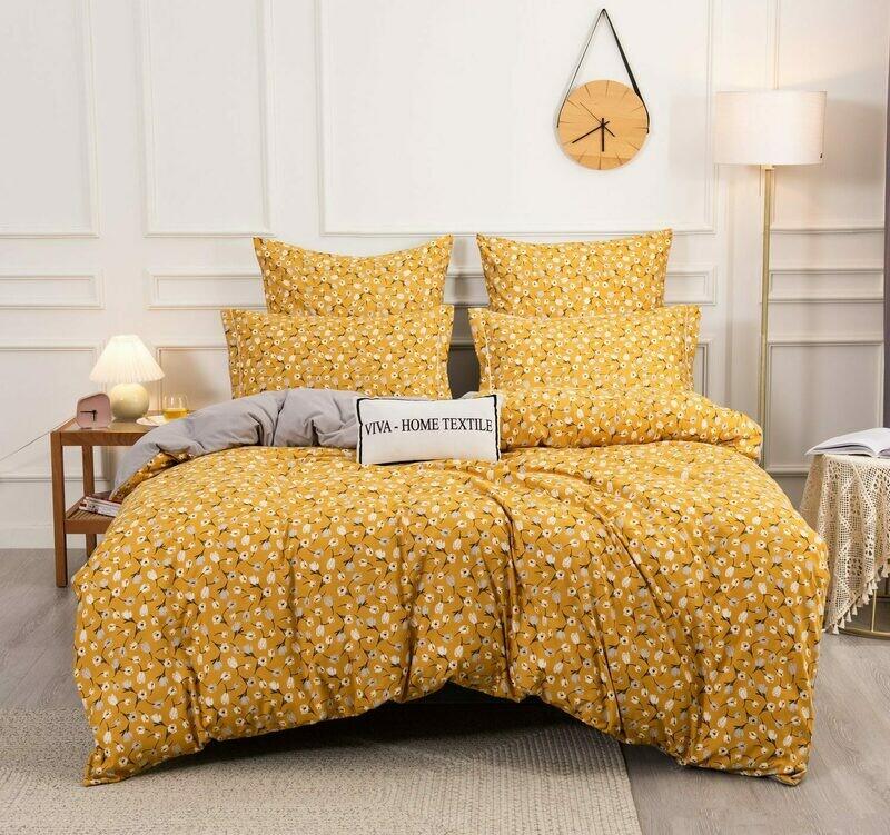 Комплект постельного белья Сатин Вышивка CN146