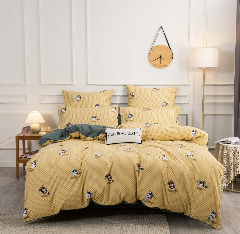 Комплект постельного белья Сатин Вышивка CN144