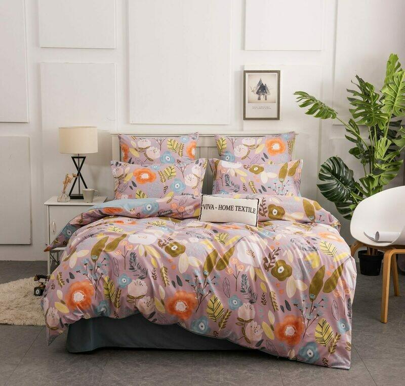 Комплект постельного белья Сатин Вышивка CN134