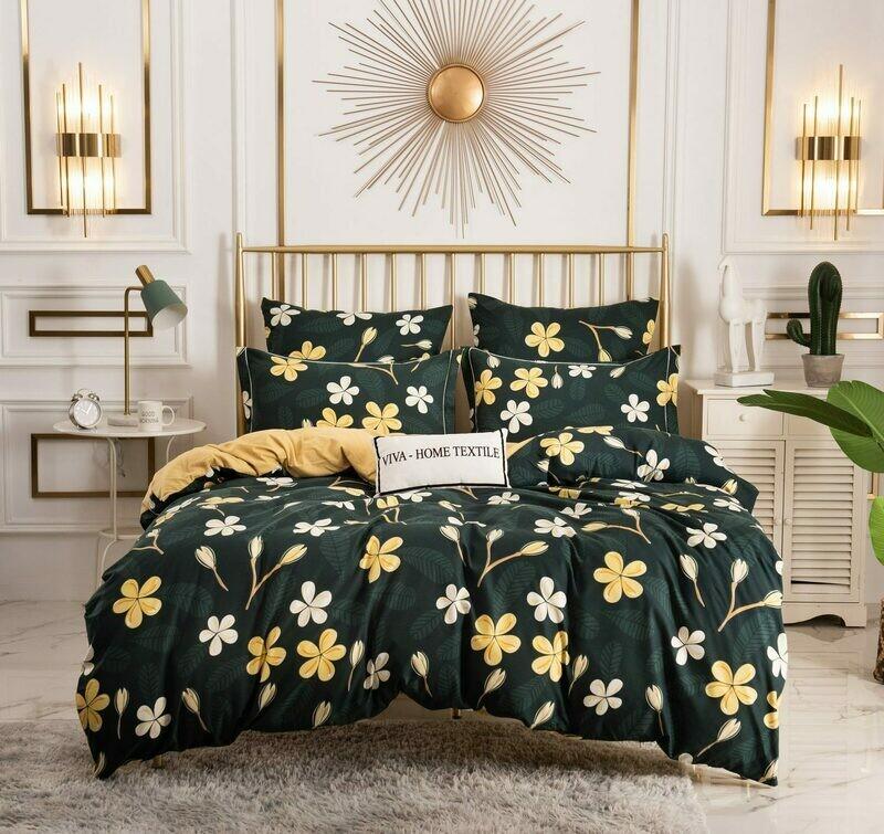 Комплект постельного белья Сатин Вышивка CN141