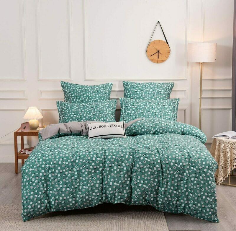 Комплект постельного белья Сатин Вышивка CN145