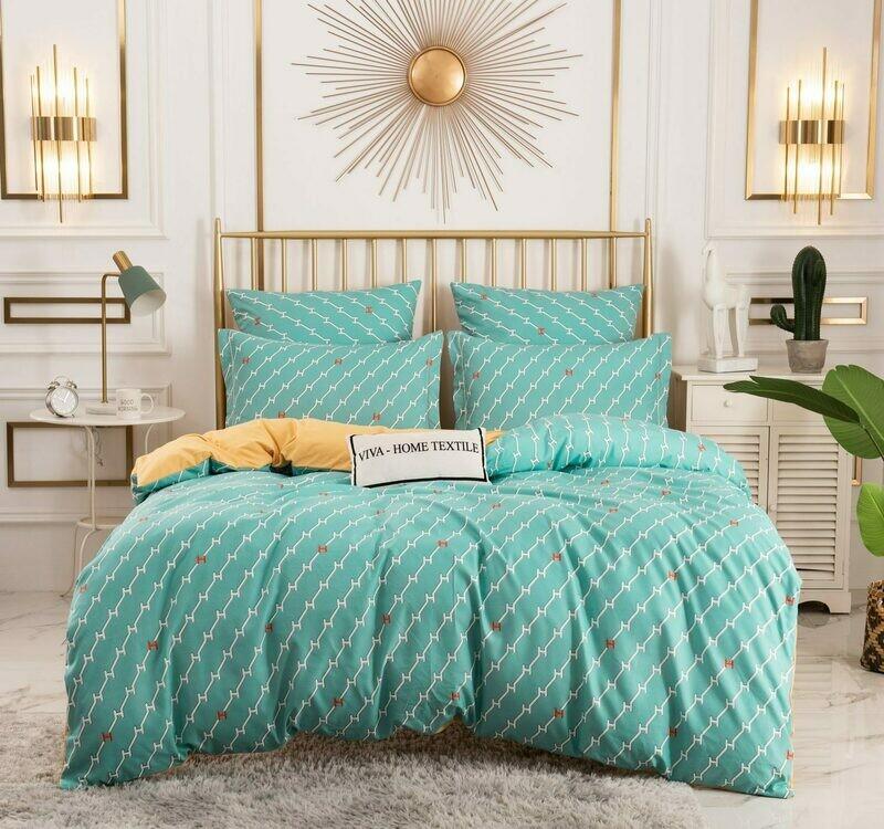 Комплект постельного белья Сатин Вышивка CN139