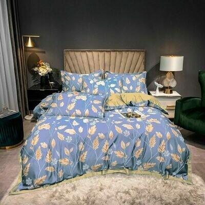 Комплект постельного белья Сатин Роял Тенсель TS018