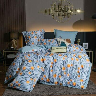 Комплект постельного белья Сатин Роял Тенсель TS019