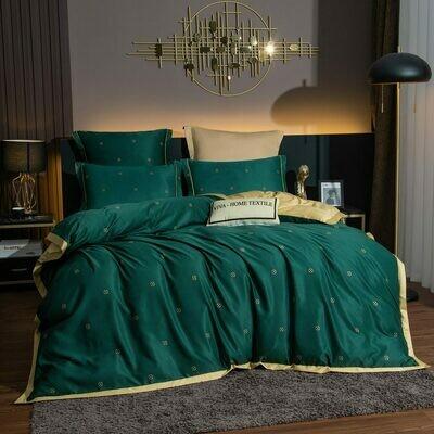 Комплект постельного белья Сатин Роял Тенсель TS017