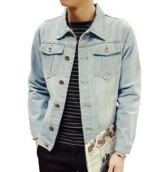 Casual Slim Denim Jacket