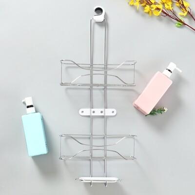 Bathroom Storage Rack Shower Organizer Caddy ShelfBathroom Shampoo Shelves Bath Head Holder