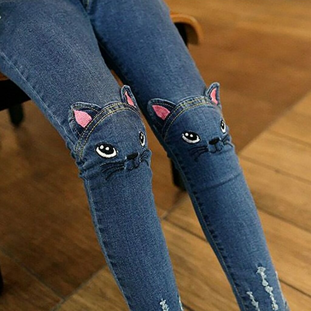 Cat jeans  trousers