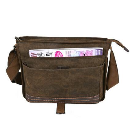 Men's casual shoulder bag