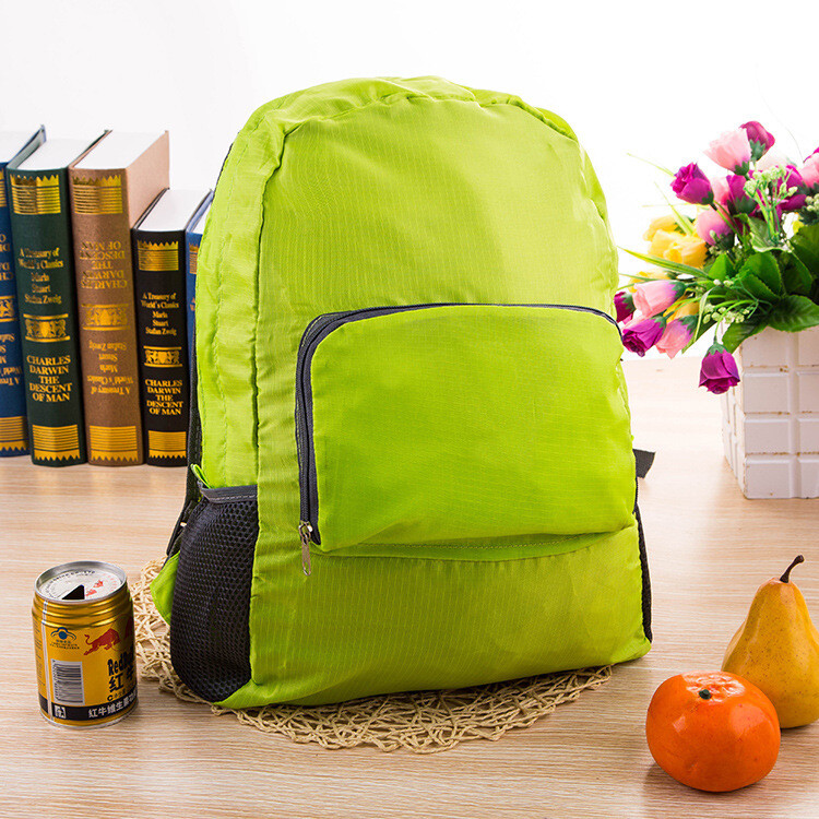 Ultra light waterproof folding backpack, backpack, outdoor sports, mountaineering bags, travel bags, student bags customized