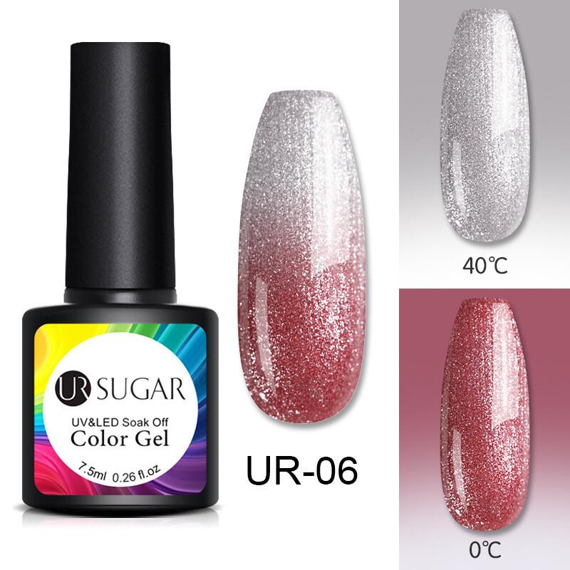 Temperature change nail polish