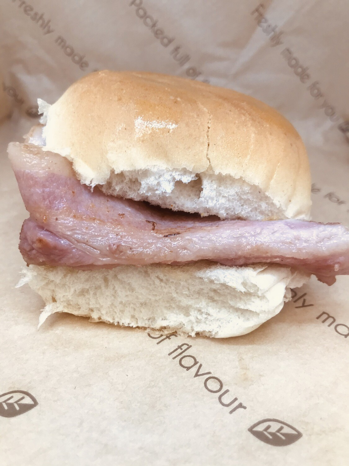 Double Smoked Bacon Roll