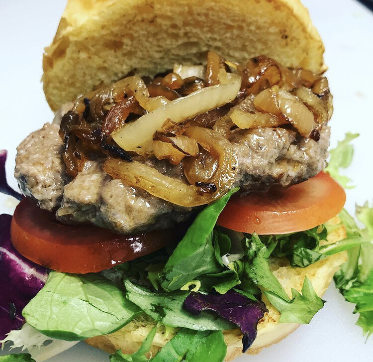 Home-made Beef Burger
