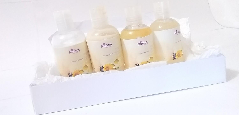Ninkus set of four 100ml products