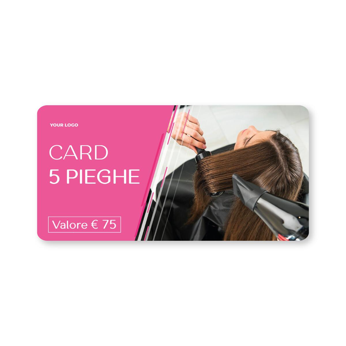 [ESEMPIO] Card 5 Pieghe