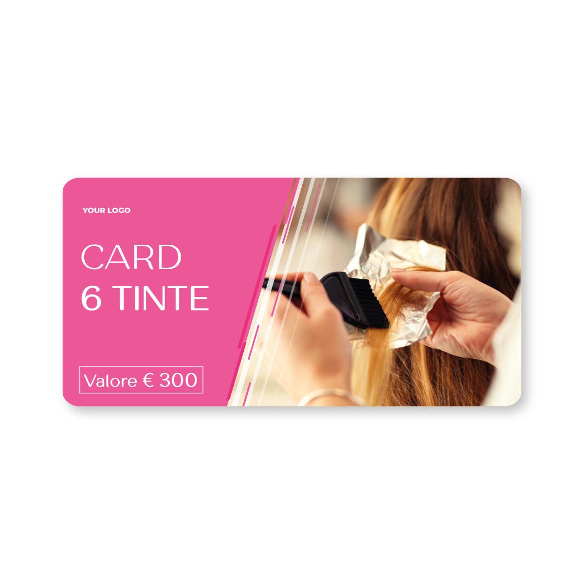 [ESEMPIO] Card 6 Trattamenti Tinta
