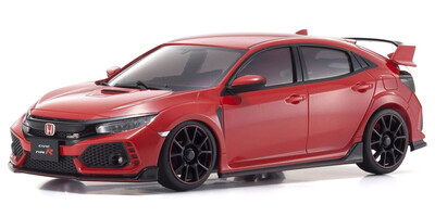 Kyosho Autoscale, Honda Civic Type R (red) ref MZP445R