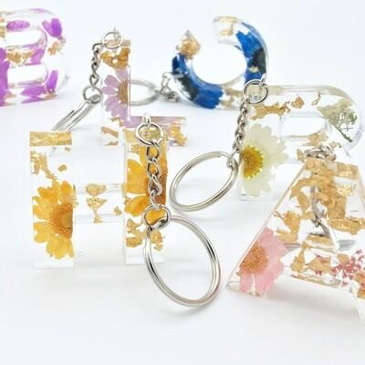 Porte-clefs floral
