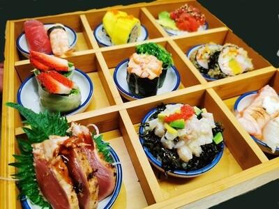 BX. 3x3 Boîte de Sushis