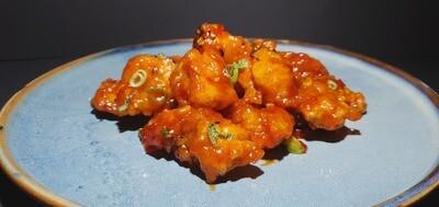 108. Poulet frit à la façon Coréenne