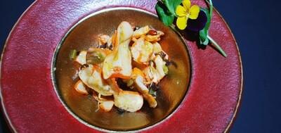 25. Salade de Calamars épicée