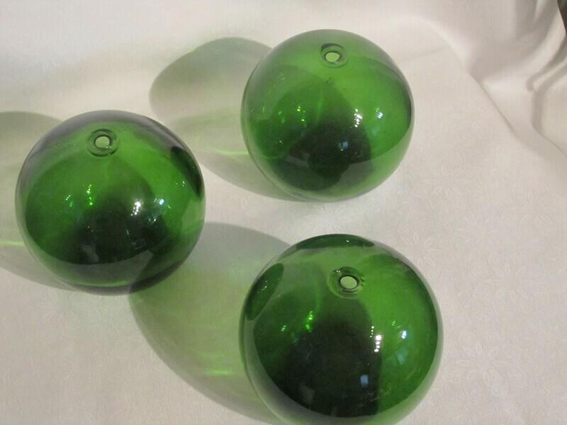 Boule de flotteur en verre (vendue à la pièce)
