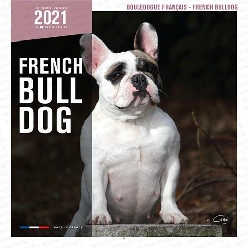 Calendrier 2021 Martin Sellier Bulldog Français