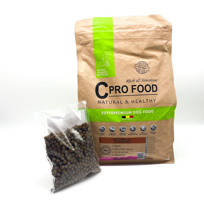 Adulte Mini Sensitive Saumon & Riz Cpro Food