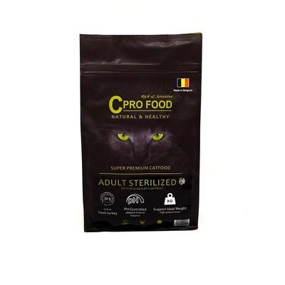 Adulte stérilisé dinde Cpro Food