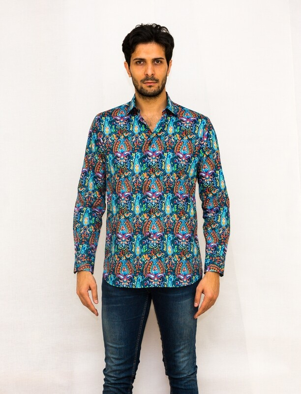Limited Edition Shirt 100% Cotton XPOP-2822101-B LIM
