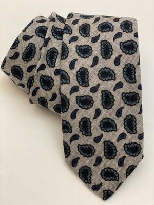 Tie 100% Wool Cra26